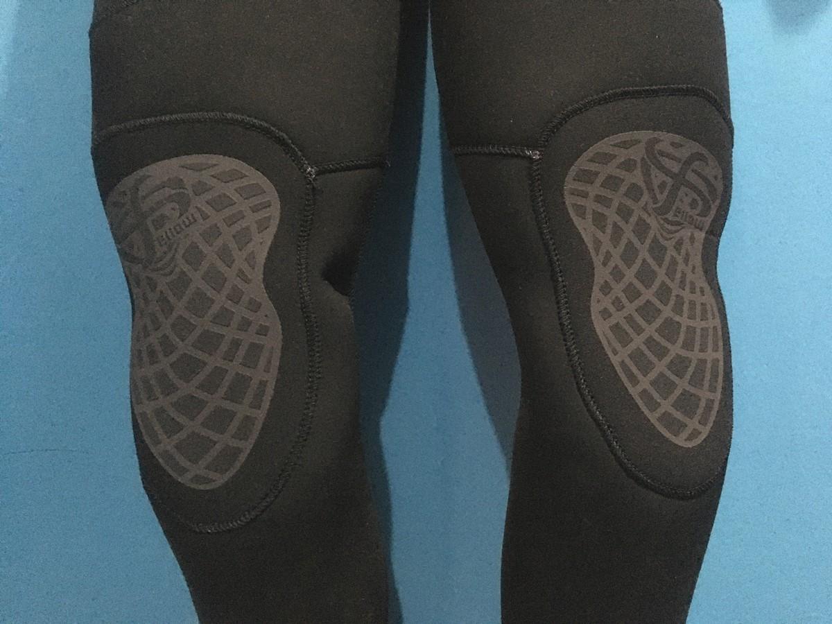 FELLOWウェットスーツのシーガルの膝パッドの質